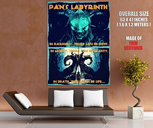 Pan's Labyrinth Amazing Fantasy Movie Pop Art Painting 63x47 Huge Giant Poster Print