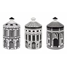 FORNASETTI ARCHITETTURA Set of Three Candles 3 X 300g / 10.5oz (Otto Scent)