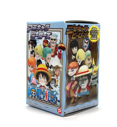 One Piece Anime Character Heros Mini Big Head Figure The New World Vol. 11(Blind Box) by Plex (Piece Mini World Figure One)