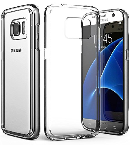 Galaxy S7 Clear Case, Vena [Retain] Slim Protection [Crystal Clear][Scratch Resistant] Hybrid TPU Bumper Case Cover for Samsung Galaxy S7