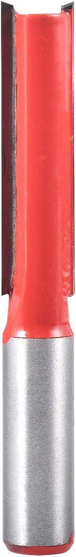 HOHXEN Fraise droite de 12,7 cm de diam/ètre x 5,1 cm de profondeur avec tige de 12,7 cm de diam/ètre