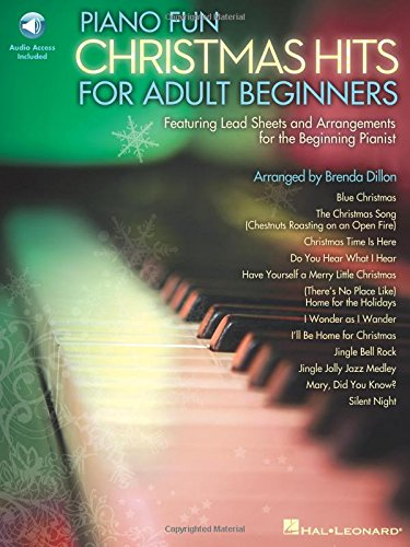 Piano Fun - Christmas Hits For Adult Beginners (Book/CD)
