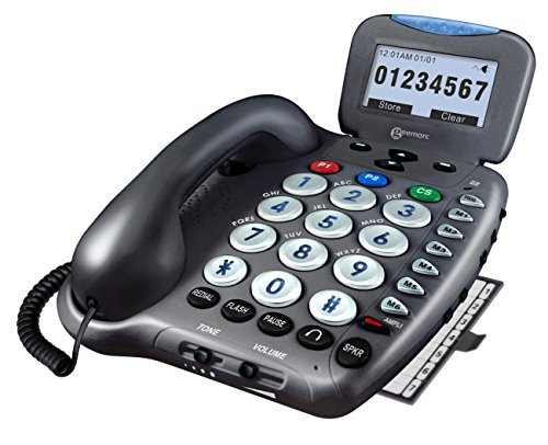 Ampli550 - Amplified Telephone with Talking Caller ID and Talking Keys by Geemarc ()