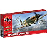 Airfix A12001A Supermarine Spitfire MkIa 1:24 Scale Series 12 Plastic Model Kit