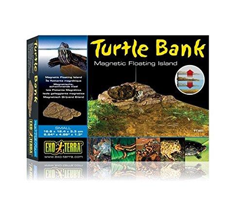 Bank Corner - Exo Terra Turtle Bank Magnetic Floating Island, Small