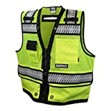 DEWALT DSV521-5X Class 2 Heavy Duty Surveyor Vest, 5X-Large