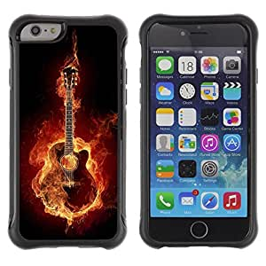Jordan Colourful Shop@ Fire guitar Rugged hybrid Protection Impact Case Cover For iPhone 6 Plus CASE Cover ,iphone 6 5.5 case,iPhone 6 Plus cover ,Cases for iPhone 6 Plus 5.5