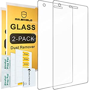 [2-PACK]-Mr Shield For ZTE Warp Elite [Tempered Glass] Screen Protector with Lifetime Replacement Warranty from Mr Shield