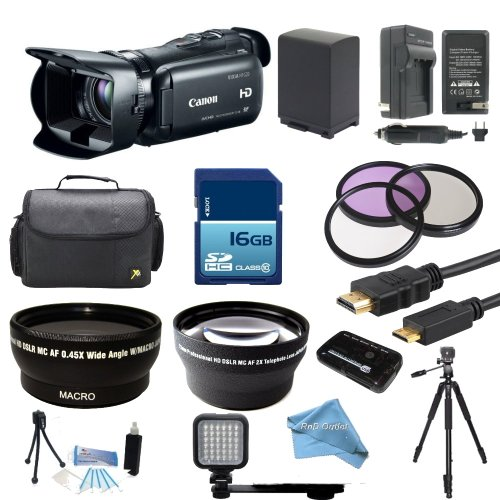 canon-vixia-hf-g20-32gb-full-hd-camcorder-with-16gb-card-battery-charger-case-led-light-tripod-wide-