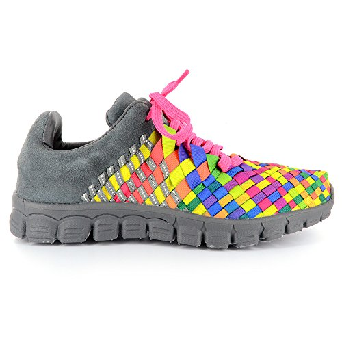 Corkys Footwear Womens Dance Shoes Bright Multi