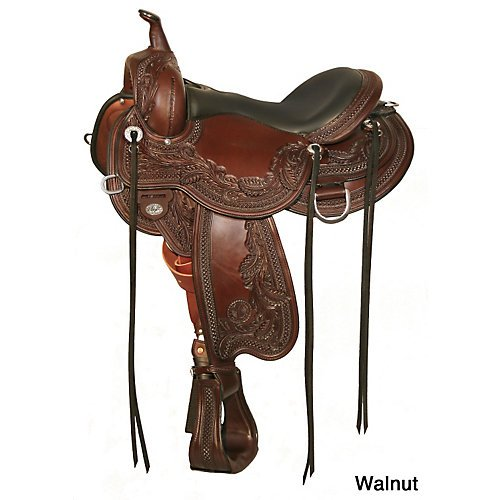 Circle Y Goodnight Wind River Saddle Wide 16 Wal