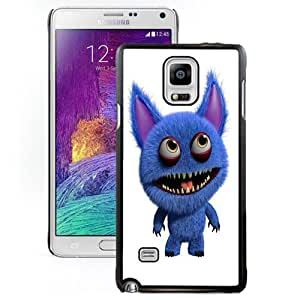 New Personalized Custom Designed For Samsung Galaxy Note 4 N910A N910T N910P N910V N910R4 Phone Case For 3D Blue Monster Phone Case Cover