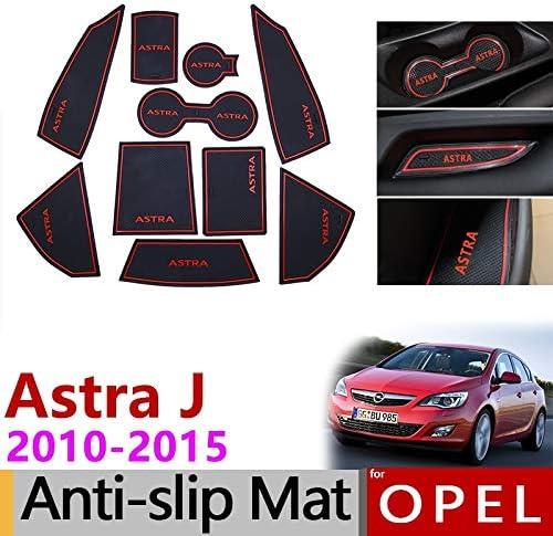 Nti-Slip gomma cancello Slot per Astra J tazza tappeto accessorio 2010-2017