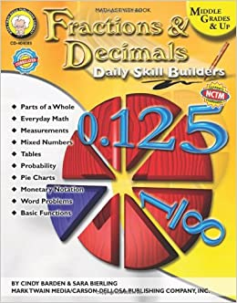 pbl with fractions and decimals