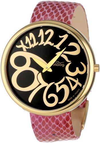 Moog Paris Women's XWA3671W-PY-12G  Gold-Plated Analog Watch