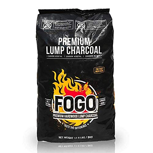 Fogo Premium Oak Restaurant All-Natural Hardwood Lump Charcoal for Grilling