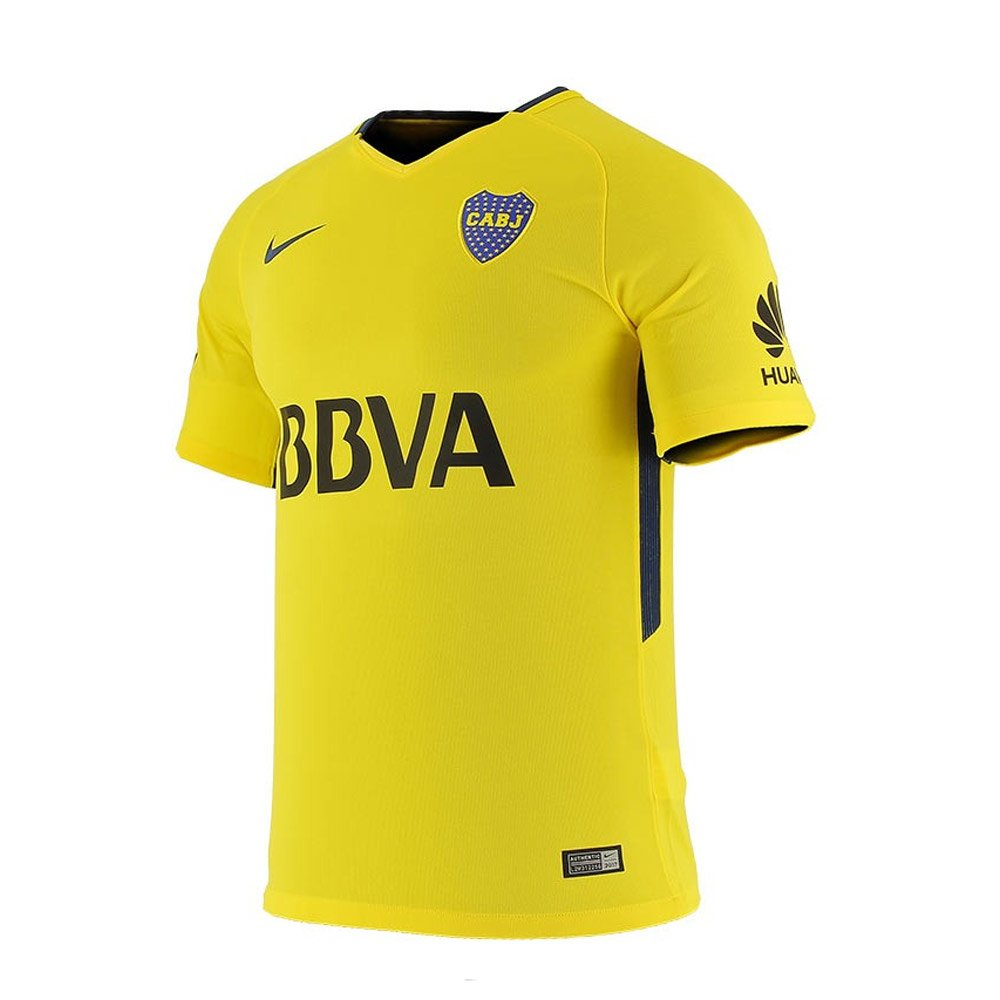2017-2018 Boca Juniors Away Nike Football Shirt B073SPQQTFYellow XL 46-48\