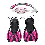 Snorkel Master Snorkeling Mask & Snorkel Fins Set