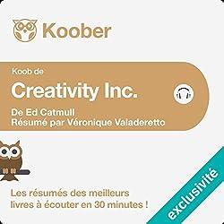 Résumé : Creativity Inc. d'Ed Catmull et Amy Wallace