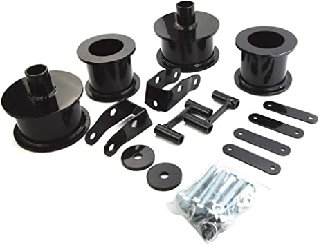 Shock Extenders Suspension Leveling Kit 2WD 4WD 2.5 Front+ 2 Rear American Automotive Wrangler JK Full Lift Kit Steel Coil Spacers