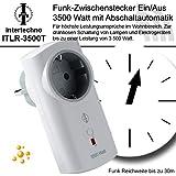 Intertechno ITLR-3500T - Enchufe por radiofrecuencia (mecanismo automático de desconexión)