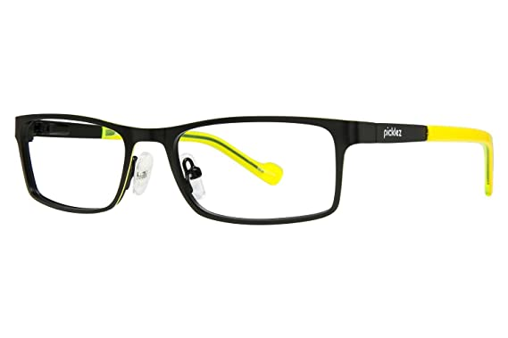 Amazon.com: Picklez Buster Childrens Eyeglass Frames - Matte Black ...