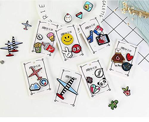 buntes Tourist Souvenir Bekleidung Zubeh/ör Kinder Spielzeug Lernspielzeug f/ür Kleinkinder Exquisite Vintage Paris-Symbol Button