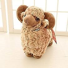 LUCKSTAR Lamb Plush Doll - 10'' Creamy Cute & Soft Sheep Stuffed Animal Goat Toys - Perfect Chrismas & Birthday Gift for Children or Girlfriend