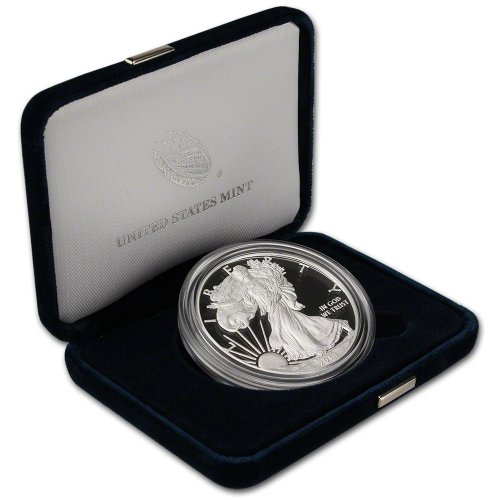 2014 W American Silver Eagle Proof $1 OGP US - Eagle American Proof Coin Silver