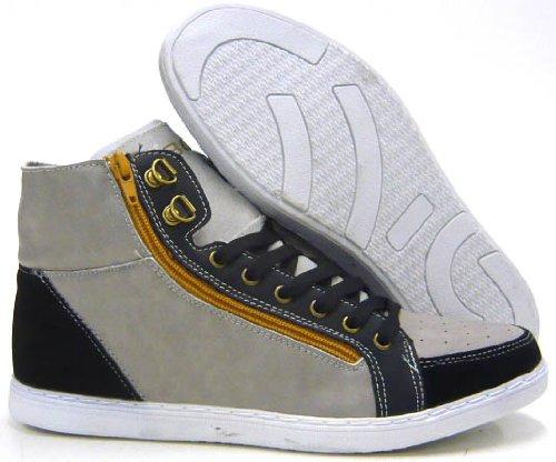Herren Schuhe Sneaker Freizeitschuhe Skater Sneaker Grau