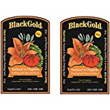 Black Gold 1302040 16-Quart All Organic Potting Soil rTptmrn, 16 quart bag, 2 bags