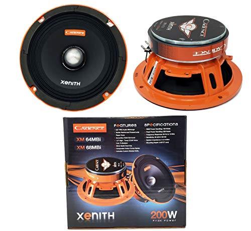 ((2) Cadence XM68MBi 6.5 Inch 400W Midrange Loud Speaker Bullet 8 Ohm Car Audio )