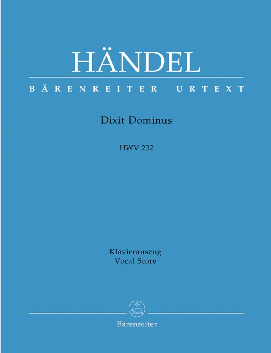 Dixit Dominus HWV 232 (Allemand) Broché – 1 janvier 2013 Haendel Georg Friedrich Barenreiter B0094Y9SW4 Geisteswissenschaften