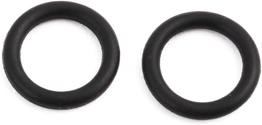 Sourcingmap/® 50/pi/èces 12,5/mm x 1,9/mm Noir caoutchouc nitrile Joint torique /öldichtung Rondelle