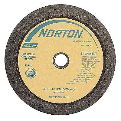 Flaring Cup Wheel, 6x4-3/4x2 in, 5/8-11 by Norton Abrasives - St. Gobain