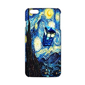 Zheng caseZheng caseCool-benz Doctor Starry night painting Who 3D Phone Case for iPhone 4/4s