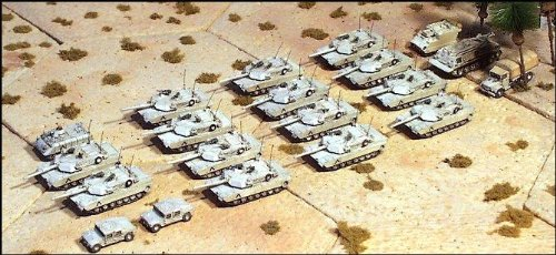US Tank Company (M1A1 Abrams) - Tank M1a1