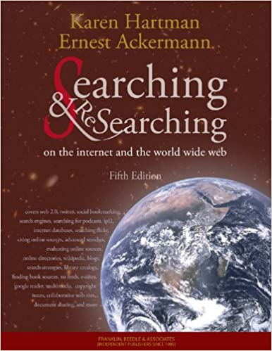 Amazon searching and researching on the internet and the searching and researching on the internet and the world wide web 5th edition fifth edition fandeluxe Choice Image
