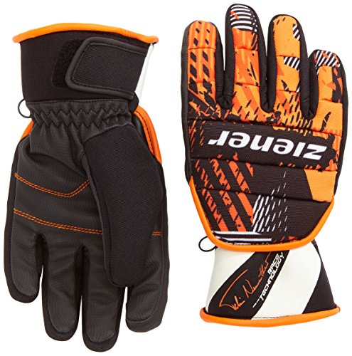 Ziener Jungen Handschuhe Livetime AS Junior Gloves Race, Felix Neureuther, 6.5, 151970