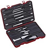 Bovidix 288201901 Flat Cold Chisel with  Pin and  Taper Punch Set, 18-Piece