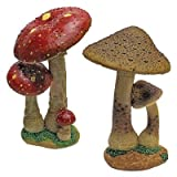Cheap Design Toscano Mushroom Garden Statue – Red & Tan Mystic Forest Mushroom Statue – Garden Statue