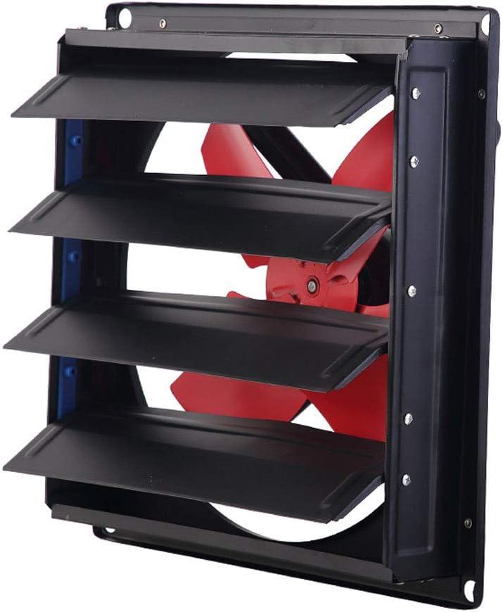 QIQIDEDIAN Ventilador de Escape Tipo de persianas Fuertes para el hogar Ventilador de ventilación Industrial Windy Kitchen Extractor para Campana extractora (Size : 14 Inches)