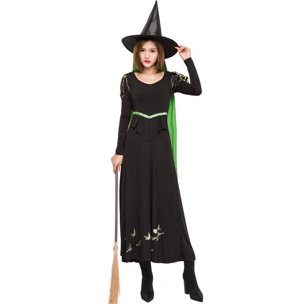 KTYX Halloween Halloween Halloween Bösen Hexe Kostüm Rave Party Cosplay Kostüm Halloween Kleider (größe : XL) 27e93e