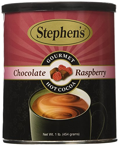 Cocoa Chocolate Raspberry (Stephen's Gourmet Hot Cocoa, Chocolate Raspberry, 16 Oz. Can.)