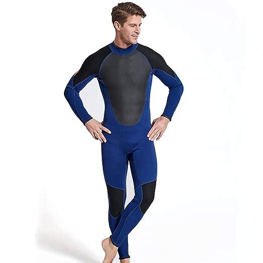 3MM Traje de Neopreno Hombres Protección contra el frío ...