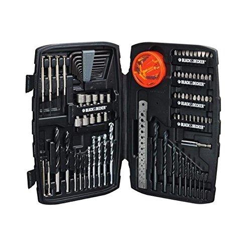 Black + Decker A7212 Coffret de 150 Accessoires de perç age/vissage Stanley Black & Decker France A7212-XJ