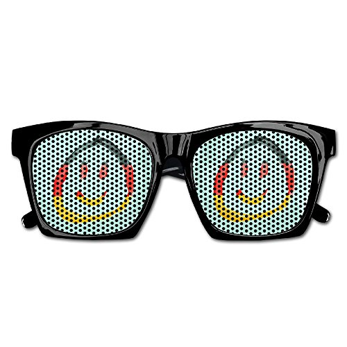 Xing Stars Colorful Summer Unisex German Flag Smile Face Fashion Party Costume - Sunglasses Flag German