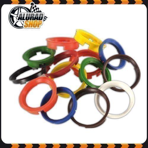 Shop Z-634541 Aluminium Rims Hub Centric Ring Set 4 Dark