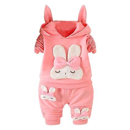 e3856299421c3b Completino Bambino,Completo Ragazza 12-14 Mesi Abbigliamento Bimbo 2 Anni Abbigliamento  Neonato Toddler Ragazzi Ragazze Vestiti Set Cartoon Stampe Tops ...