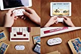 Sudroid 8bitdo Zero Mini Gamepad, Bluetooth Wireless Game Controller with Self Shutter function, Games Console for Android IOS Windows Iphone Ipad etc. Red